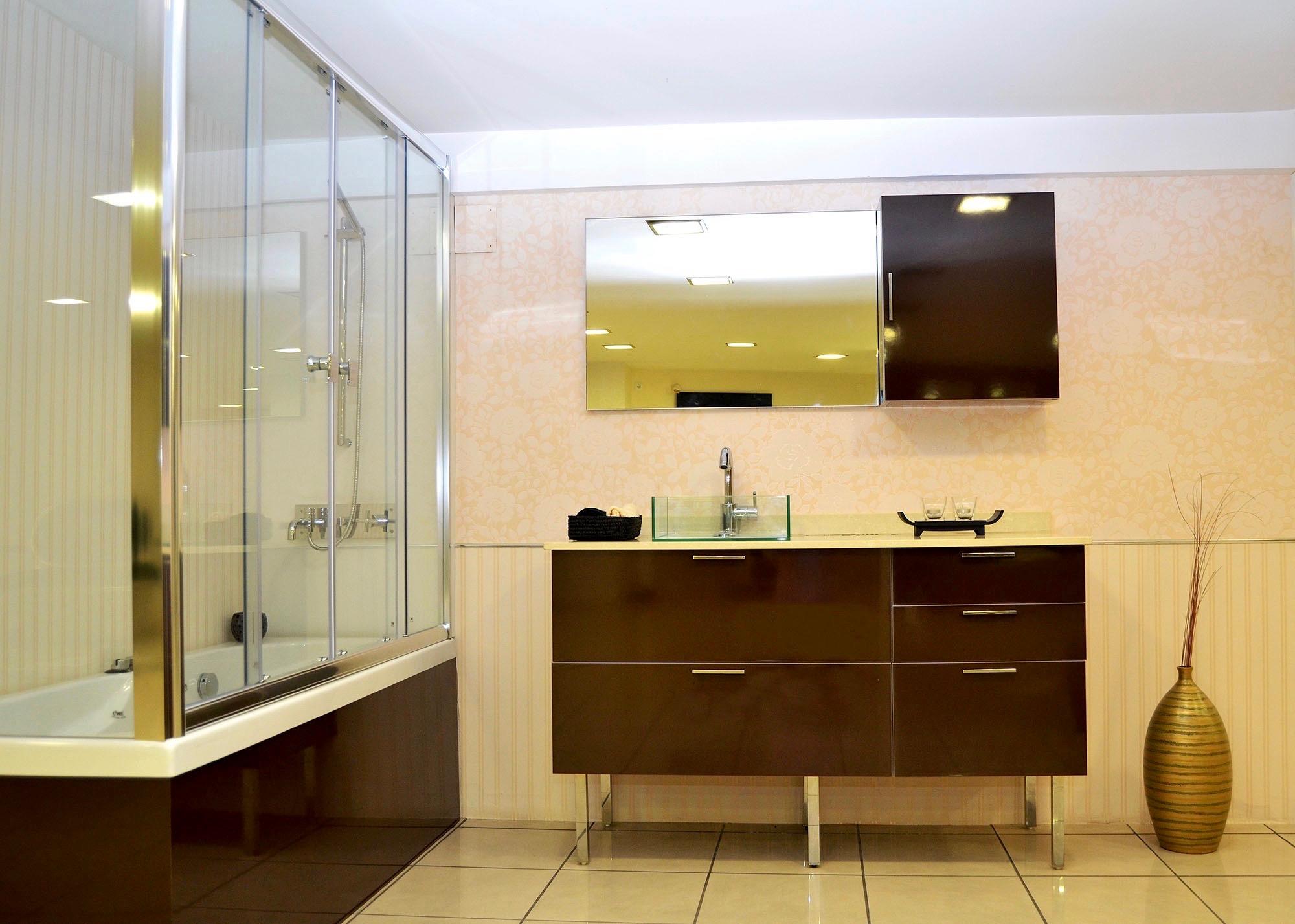 Nuestros ba os elegantes05 josman hermanos tienda de for Muebles para bano modernos y economicos